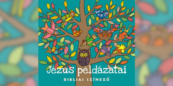 Jézus példázatai Bibliai színező