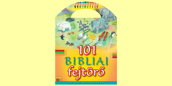 Bethan James: 101 bibliai fejtörő - Matricás foglalkoztató