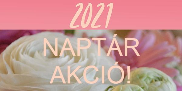 Naptár akció 2021