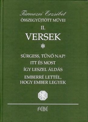 Túrmezei Erzsébet összegyűjtött művei II. (Papír)