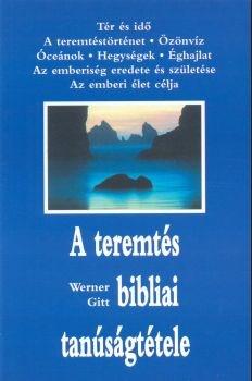 A teremtés bibliai tanúságtétele (Papír)