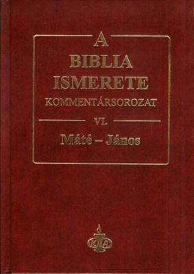 A Biblia ismerete VI. (Máté-János) (keménytáblás)