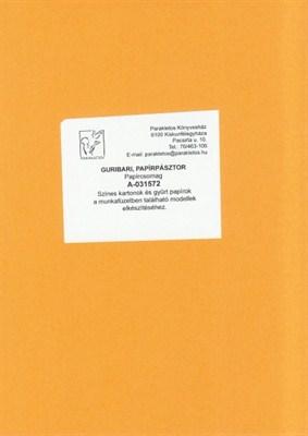 Guribari, papírpásztor papírcsomag (papír)