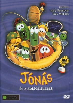 Jónás és a zöldségmesék [DVD]