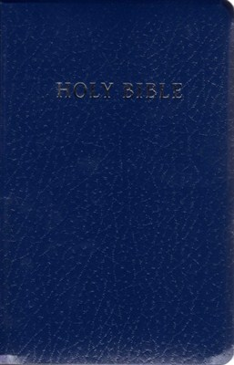 Angol Biblia New Living Translation Gift and Award Bible - Blue (Leather look / puhakötés)