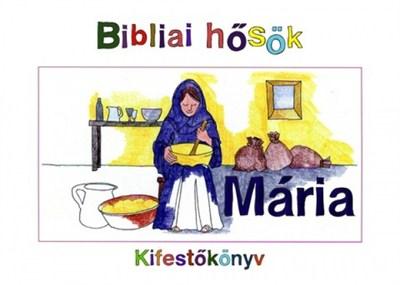 Mária - kifestőkönyv (Papír)