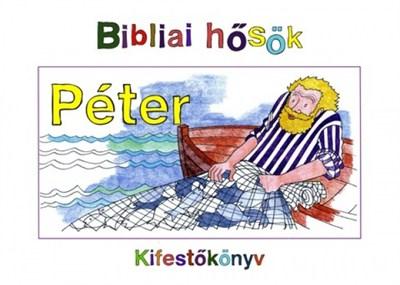 Péter - kifestőkönyv (Papír)