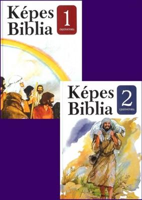 Képes Biblia 1-2. kötet (keménytáblás)