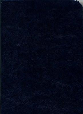 Biblia revideált Károli kicsi egyszerű (sötétkék) (műbőr)
