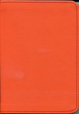 Biblia revideált Károli kicsi díszvarrott (narancs) (díszvarrott műbőr)