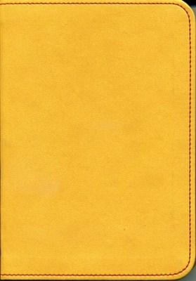 Biblia revideált Károli kicsi díszvarrott (okker) (díszvarrott műbőr)