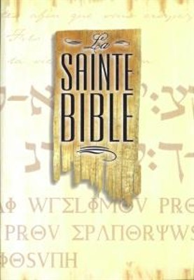 Francia Biblia Segond, papírkötés (papír)