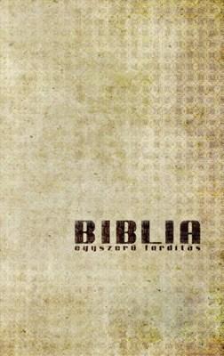 Biblia egyszerű fordítás antik borító (Papír)