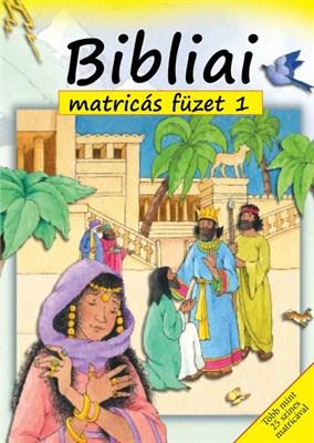 Bibliai matricás füzet 1. (Füzet)