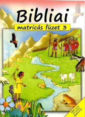 Bibliai matricás füzet 3. (Füzet)