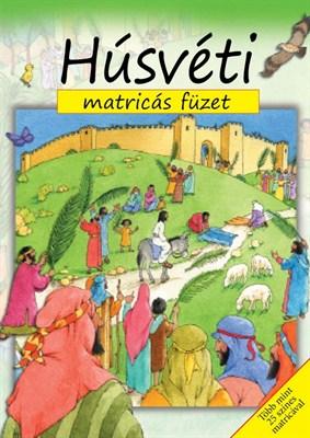 Húsvéti matricás füzet (Füzet)