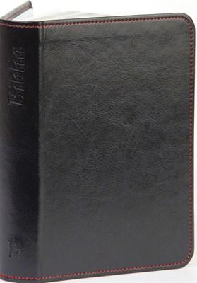 Biblia revideált Károli nagy exkluzív (sötétkék) (díszvarrott műbőr ezüst vagy arany szegéllyel)