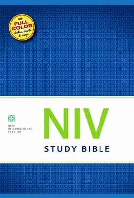 Angol Biblia New International Version Study Bible HB