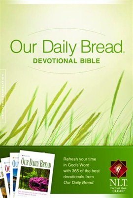 Our Daily Bread Devotional Bible (Hardback / Keménytáblás)