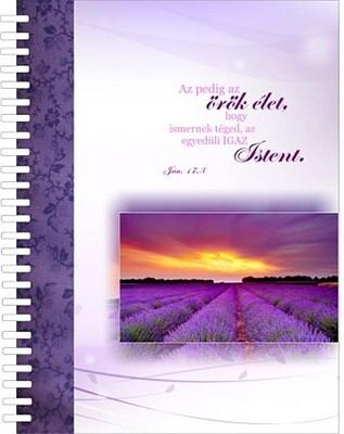 jegyzetfüzet Az pedig az örök élet...