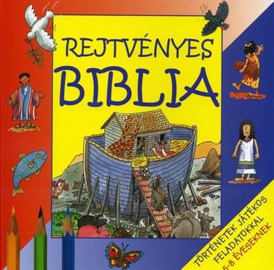 Rejtvényes Biblia (Papír)
