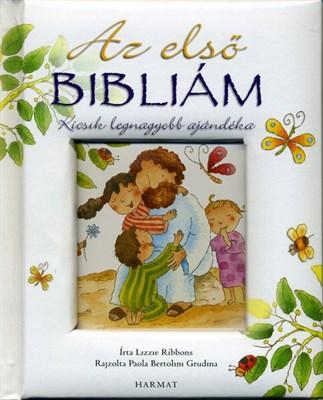 Az első Bibliám (fehér) (Keménytáblás)