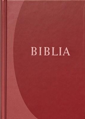 Biblia revideált új fordítás, közepes, kemény, bordó (Keménytáblás)