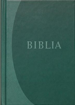 Biblia revideált új fordítás, közepes, kemény, zöld (Keménytáblás)
