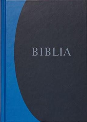 Biblia revideált új fordítás, nagy, kemény, kék (Keménytáblás)