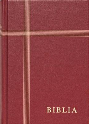 Biblia revideált új fordítás, nagy, vászon, bordó (Keménytáblás vászonkötés)