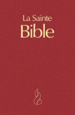 Francia Biblia Segond, nagy méret, bordó (Keménytáblás)