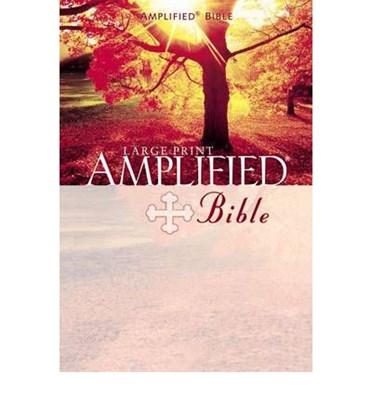 Angol Biblia Amplified Bible Large Print (Keménytáblás / Hardback)