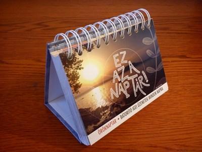 Ez az a naptár! Öröknaptár (Spirálozott)