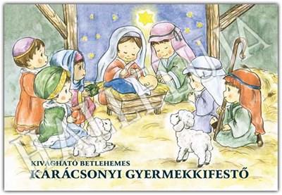 Karácsonyi gyermekkifestő (Füzetkapcsolt)