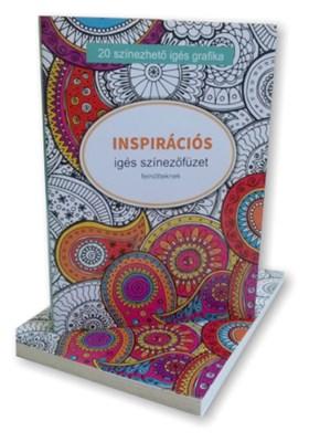 Inspirációs igés színezőfüzet nagy (ragasztott)