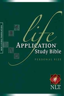 Angol Biblia New Living Translation Life Application Bible Personal Size (Papír)