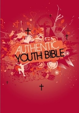 Angol Biblia Easy-to-Read Version Authentic Youth Bible Red (Hardback)