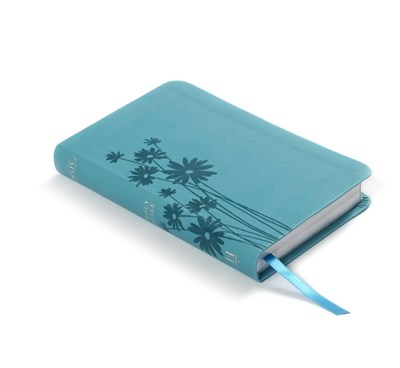 Angol Biblia New King James Version Compact Ultrathin Bible Teal LeatherTouch (Imitation Leather)