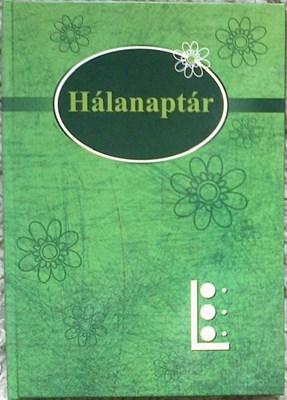 Hálanaptár zöld puhatáblás (Papír)