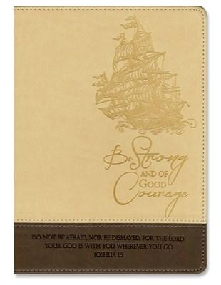 Exkluzív műbőr angol napló hajó (Lux Leather)