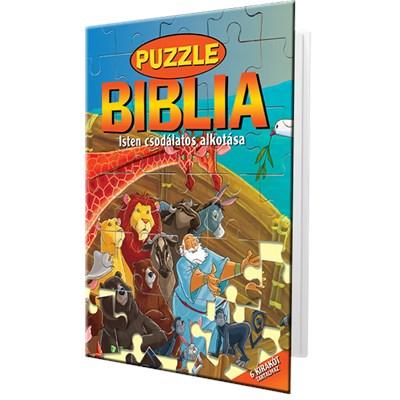 Puzzle Biblia 1. rész Isten csodálatos alkotása (Keménytáblás)