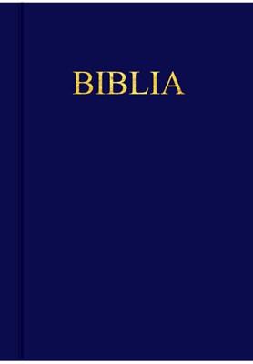 Biblia egyszerű fordítás kék műbőr kötés