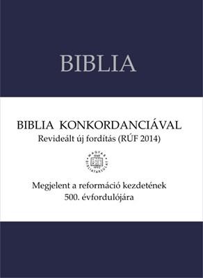 Biblia revideált új fordítás, nagy, vászonkötésű, konkordanciával (Vászon)