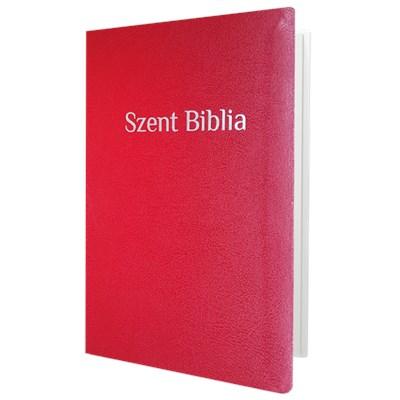 Biblia Károli fordítás, piros betűs, közepes, piros (Papír)
