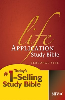 Angol Biblia New International Version Life Application Study Bible Personal Size (Hardback)