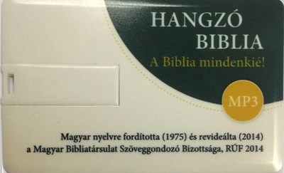 Hangzó Revideált Új Fordítású Biblia MP3 (Pendrive)