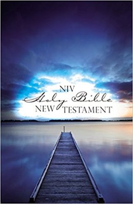 Angol Újszövetség New International Version Outreach Edition New Testament, Blue