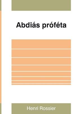 Abdiás próféta (Papír)