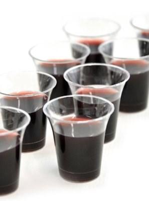 Úrvacsorai műanyag pohár készlet (50 db) (műanyag)
