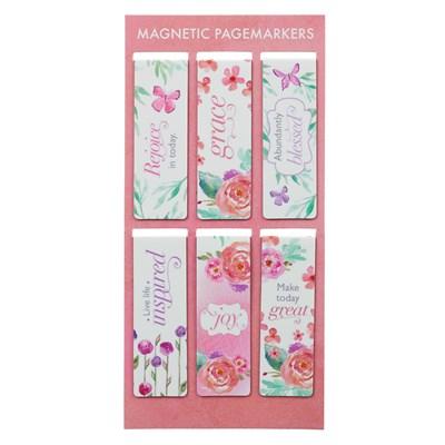 Mágneses könyvjelzőcsomag rózsás (Csomag)